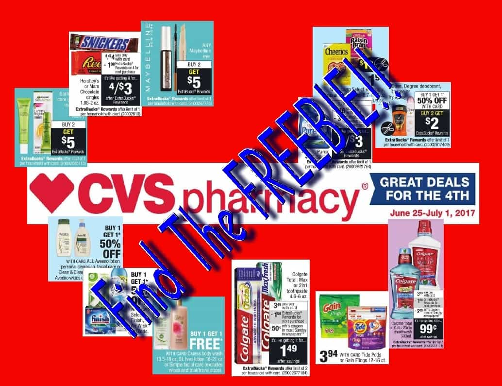 CVS Sale for the Week of 6/25/17 Deal Breakdowns With A FREEBIE!! ~ Coupon with the Lady!